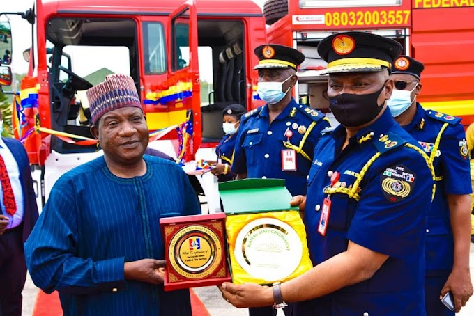 Fire Service CG Dr Ibrahim Liman Deploys Fire Trucks To Plateau State, Governor Lalong Expresses Gratitude