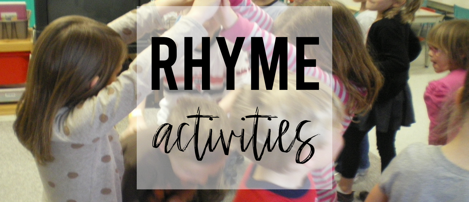 Rhyming Bridge is Falling Down rhyme game activity for Kindergarten