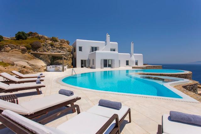 Midas Villa, Psarrou, Mykonos