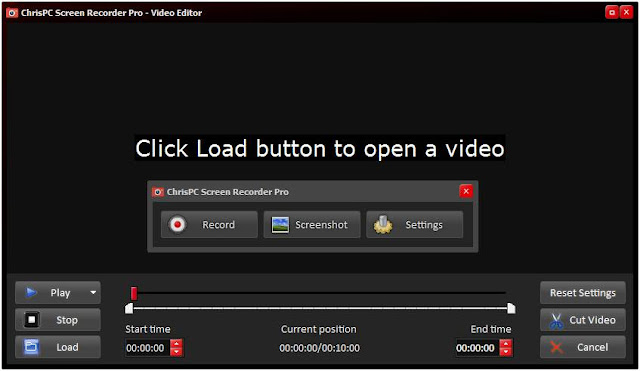 Screenshot Chris-PC Screen Recorder Pro 2.20 Full Version