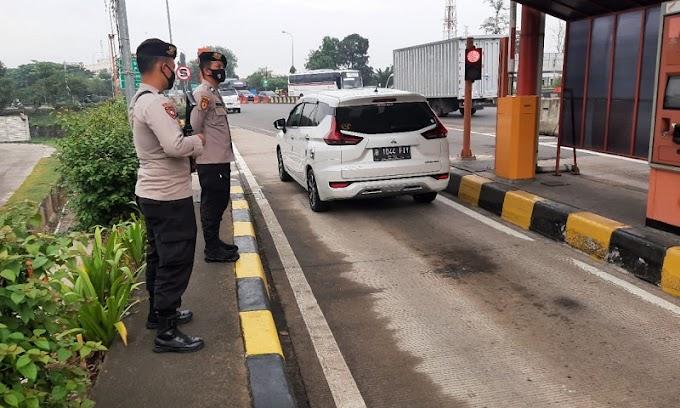 Beri Rasa Aman, Ditpamobvit Polda Banten Gelar Patroli Gabungan di Tol Tangerang-Merak
