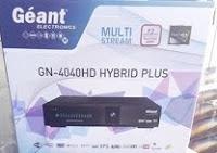 اخر تحديث لجهاز MISE À JOUR GEANT GN-4040 HD HYBRID PLUS