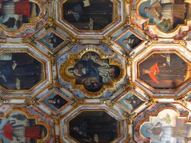 Teto da capela de São Roque