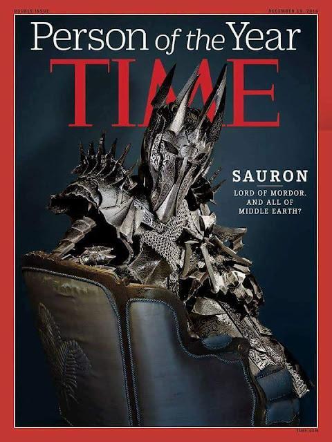 Meme de humor sobre Sauron