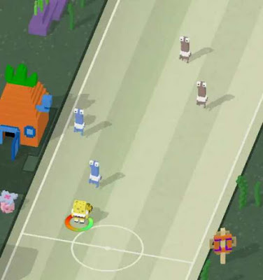Game Nikelodeon Football Champions -  Spongebob Soccer