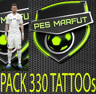 PES 2016 Marceu 330 Tattoo Pack