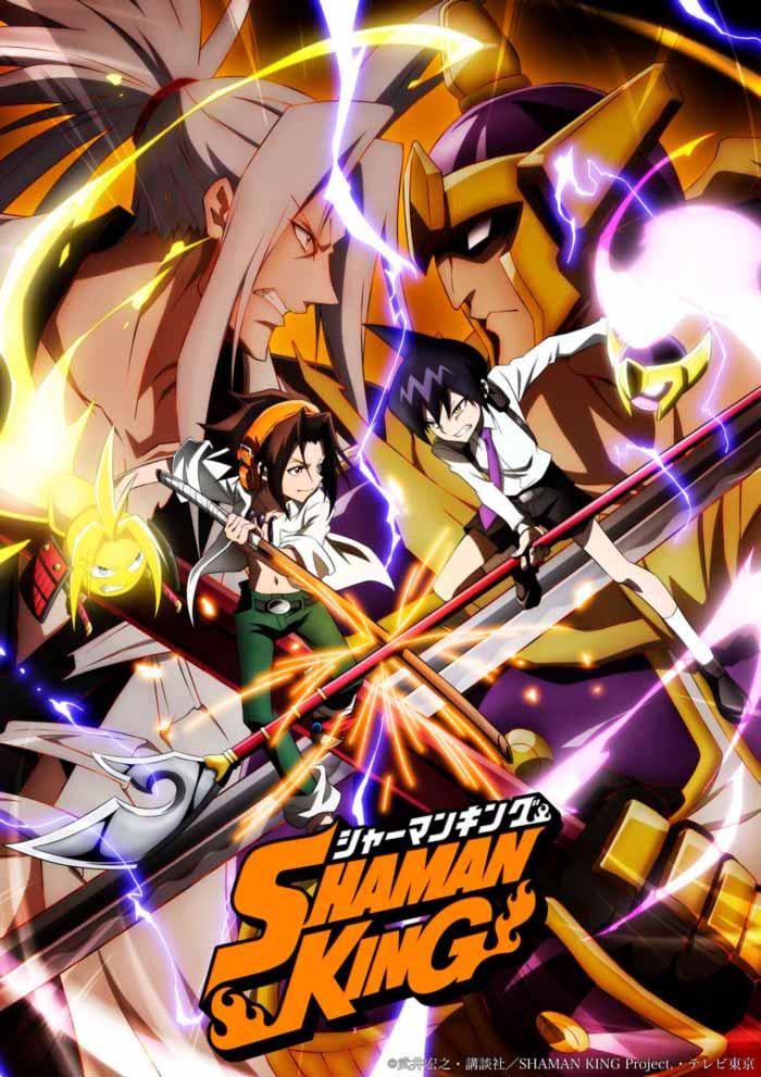 Shaman King anime (2021) - poster