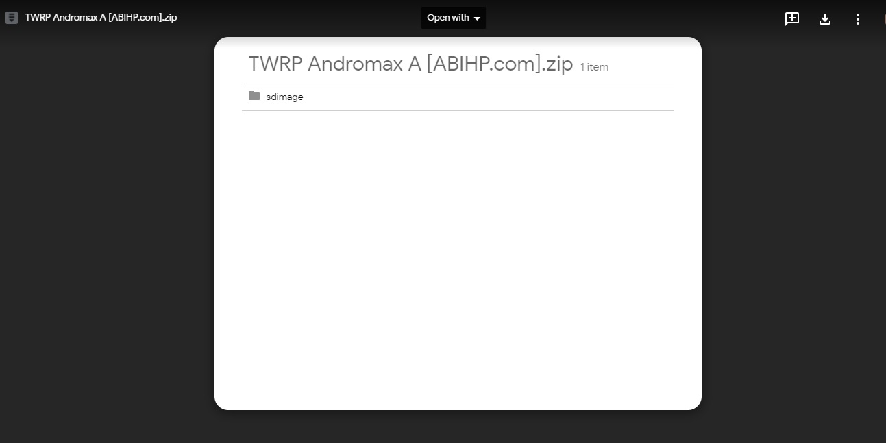 Download TWRP Andromax A A16c3h