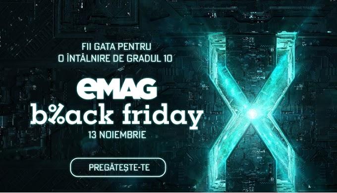 Vineri e Black Friday la eMAG: 4 milioane de produse și reduceri de 300 de milioane lei (P)