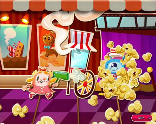 Candy Crush Saga level 2721-2735