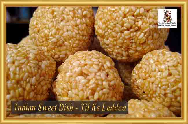Indian Sweet Dishes - Til Ke Laddoo