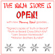 The Ninja Store is open again for business!