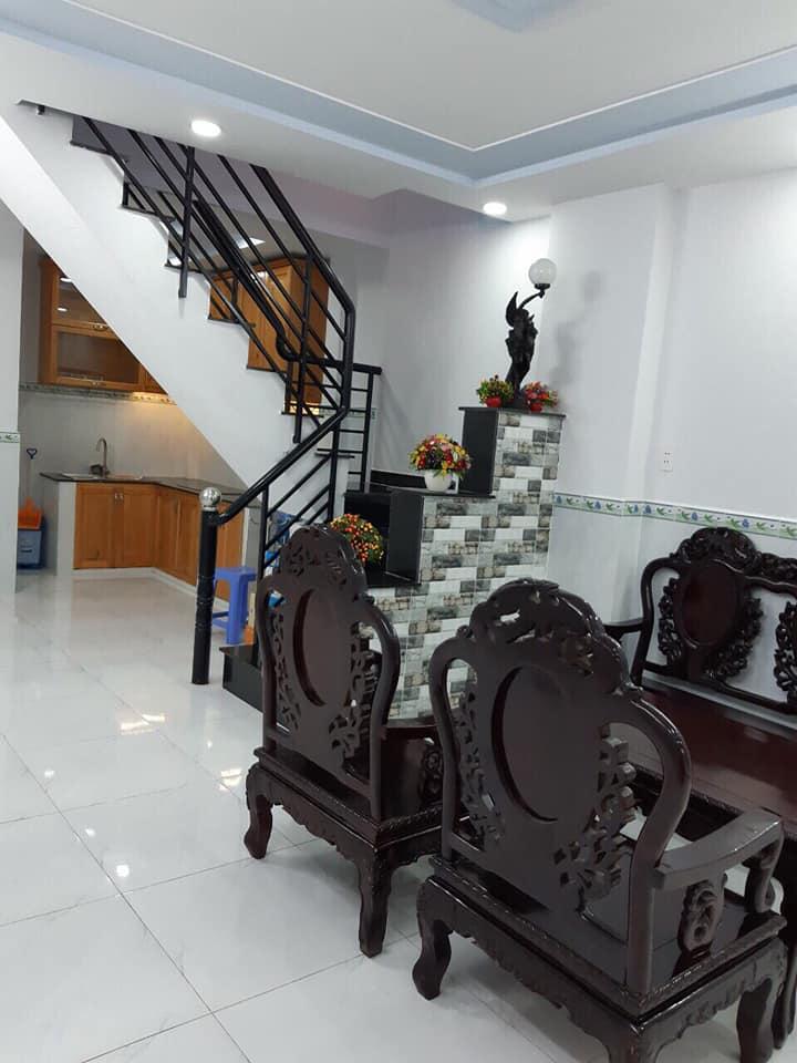 Bán nhà hẻm 650 Hương Lộ 2 phường Bình Trị Đông A quận Bình Tân. DT 4x10m