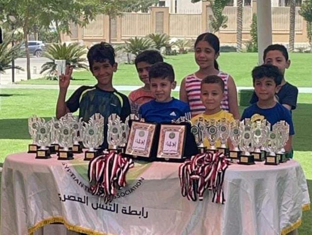 نادي بني سويف يشارك ببطولة رابطة التنس المصري