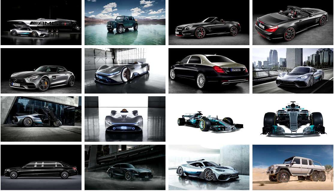 Bộ sưu tập hình nền Wallpaper 4K hãng xe Mercedes