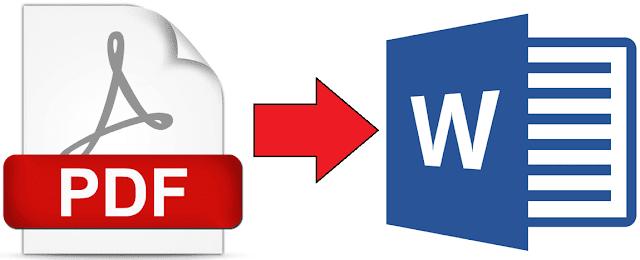 تحويل ملفات PDF إلى ملفات Word