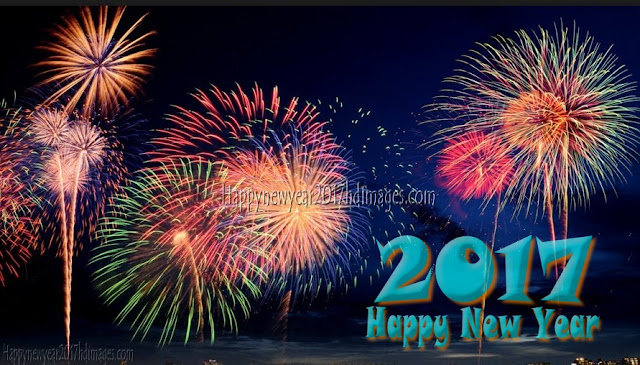 New Year 2017 Fireworks HD Photos Download Free