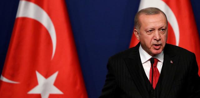 Ερντογάν: Στα σύνορα Τουρκίας-Ελλάδας βιώθηκαν απάνθρωπες σκηνές
