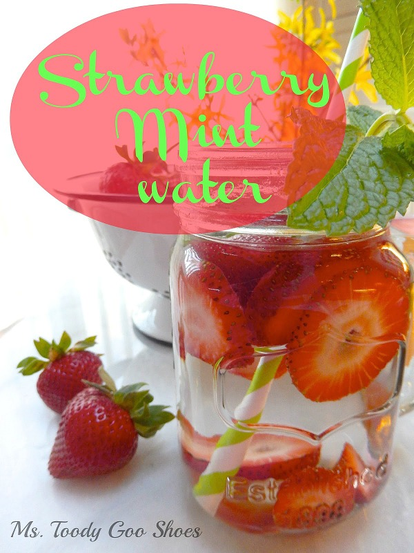 Strawberry Mint Water |  Ms. Toody Goo Shoes