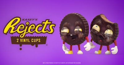 Kidrobot Exclusive REJECTS Dark Mischief Edition Vinyl Figures by One Eyed Girl x Martian Toys