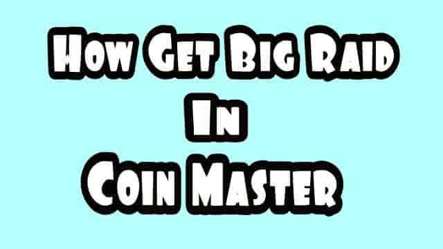 Comment obtenir de gros raids dans Coin Master - Pari élevé dans Coin Master
