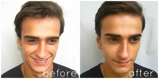 MissSilviaMakeup: Men's Eyebrow Grooming back to school