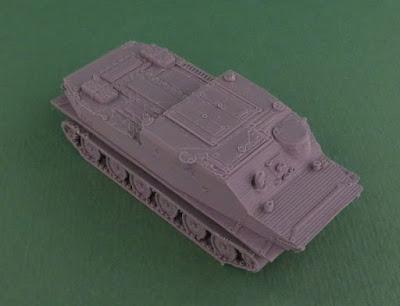 Soviet BTR-50 Amphibious Armoured Personnel Carrier picture 9
