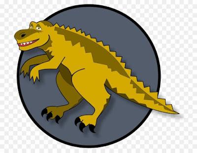 El dinosaurio amarillo soñador
