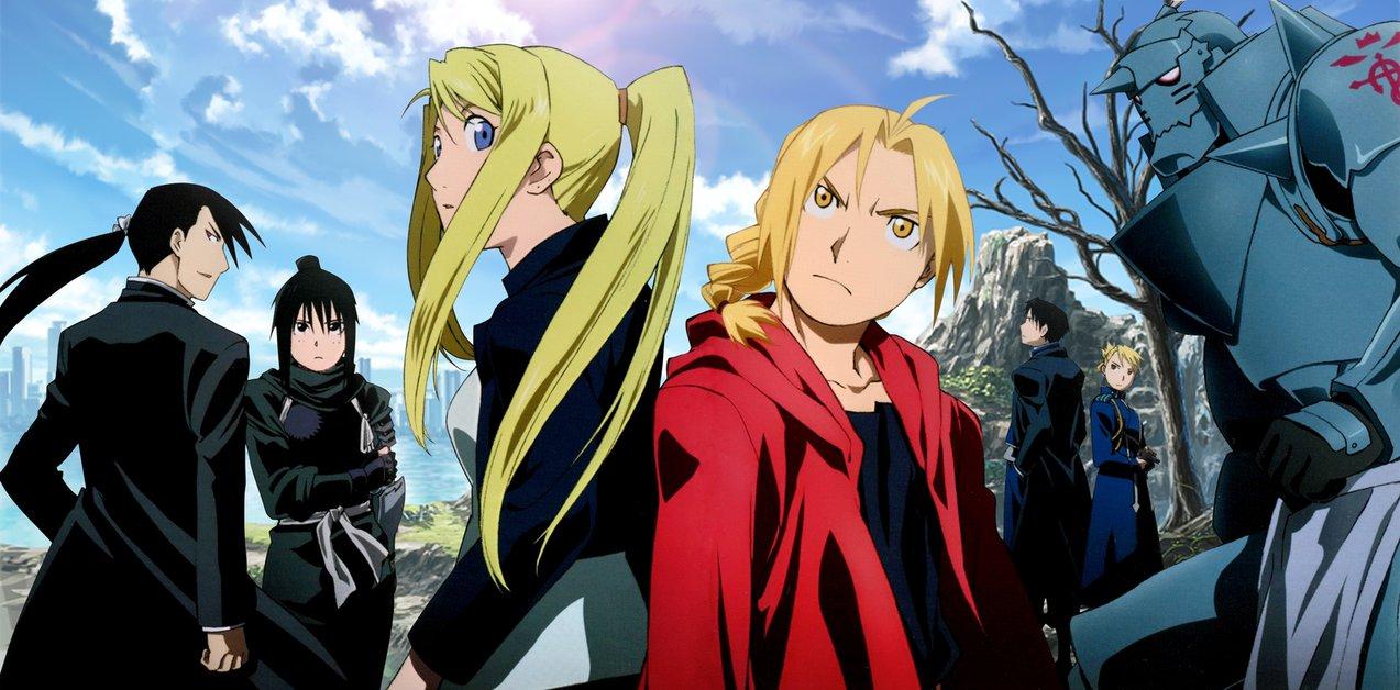 melhores animes - Fullmetal Alchemist: Brotherhood