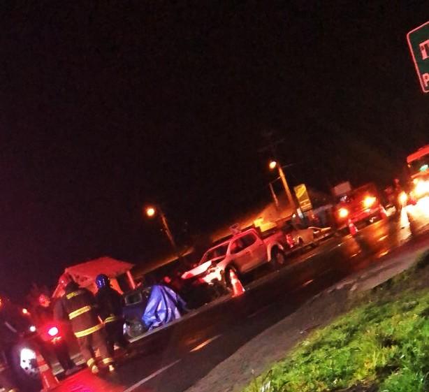 Fatal accidente en la Ruta CH 225