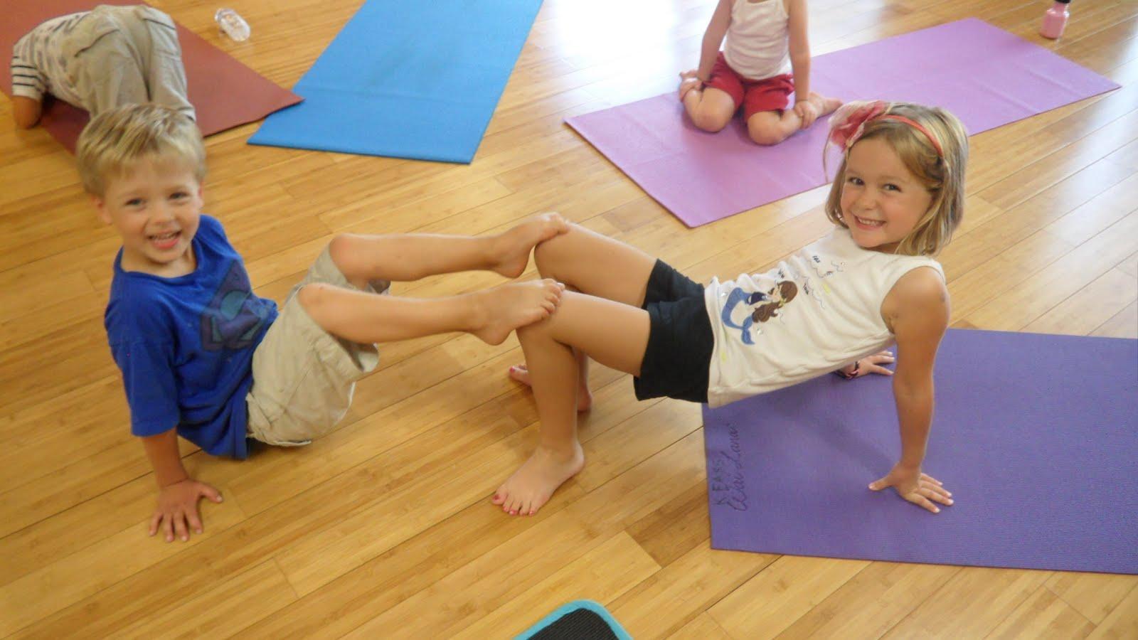 Yoga Challenge For Two Kids Abc News