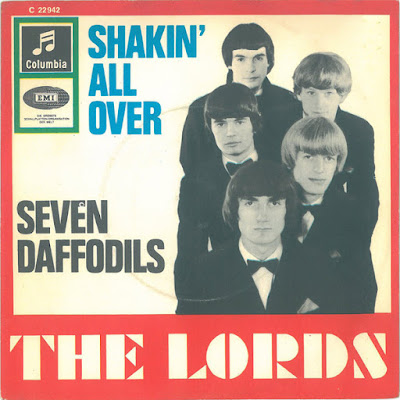 The Lords (Shakin All Over) Single (GER) (1965)