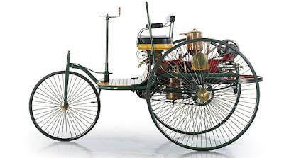 Com engegar el primer cotxe a combustió de la  història