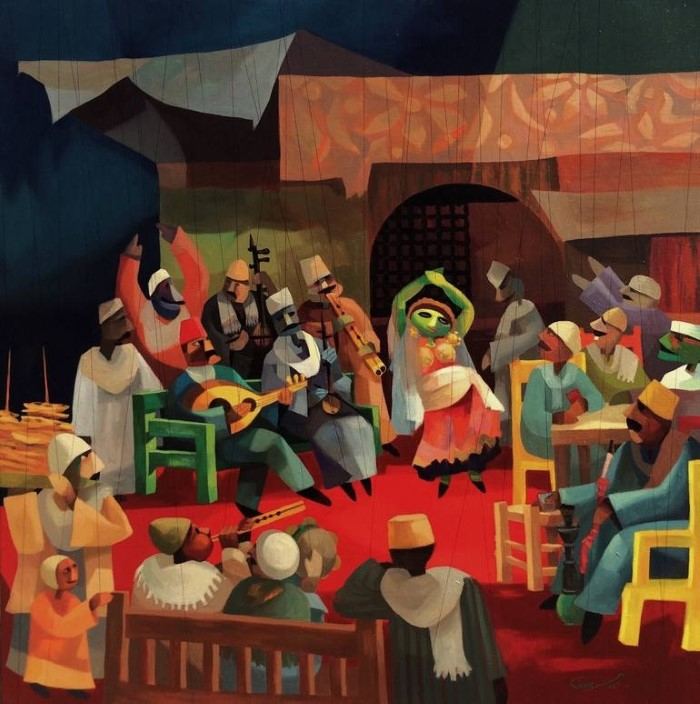 Сочетание реализма и абстракции. Mohamed Abou Elwafa