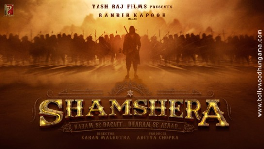 Shamshera new upcoming movie first look, Poster of Ranbir Kapoor next movie download first look Poster, release date