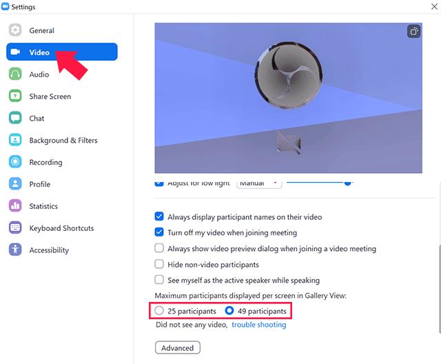 Mengatur Jumlah Peserta Zoom Meeting Yang Ditampilkan