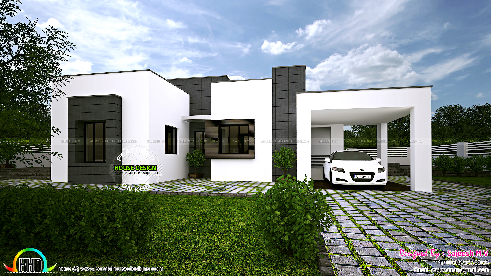 simple and spacious home design kerala home design and