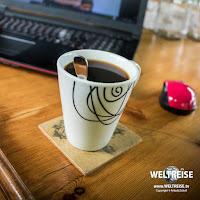 Kaffee in Südafrika. Work and travel. Arkadij Schell www.WELTREISE.tv