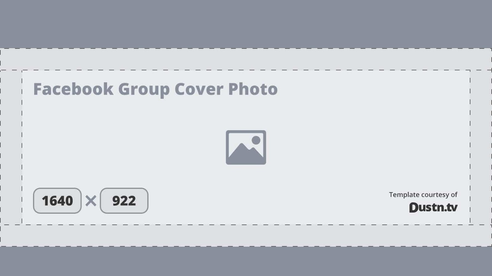 Kích thước tối ưu của ảnh bìa cho các nhóm trên Facebook là 1640 x 922 pixel sẽ cho ra một ảnh hoàn hảo
