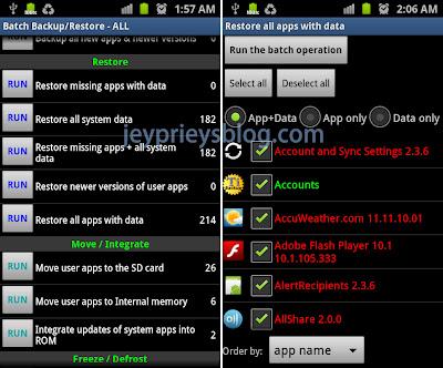 restore android titanium backup