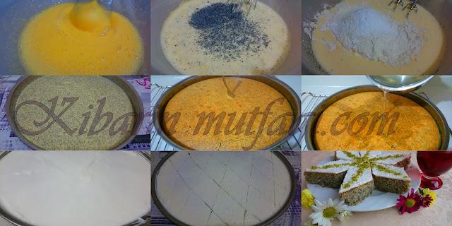 portakallı haşhaşlı revani ( irmik) tatlısı tarifi  , haşhaşlı revani nasıl yapılır, haşhaşlı revani tatlısı yapılışı, ramazan ayında hangi tatlılar yapılır , şerbetli tatlı tarifleri, resimli anlatım