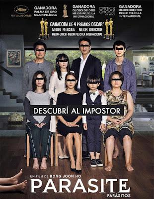 Parásitos - Poster película España