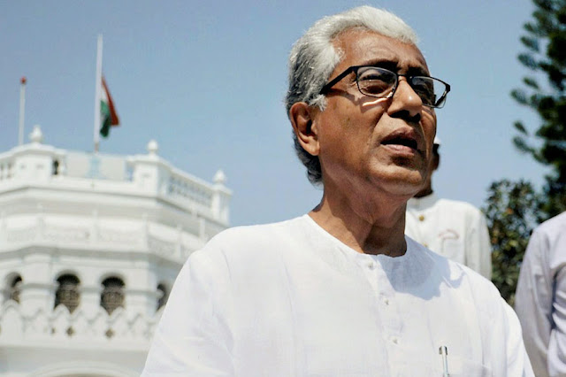 'Poorest CM' Manik Sarkar Asks For New Residence and SUV, BJP Says 'Told You So'