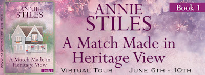 {Review | Excerpt | Giveaway} A Match Made in Heritage (Heritage #1) – Annie Stiles