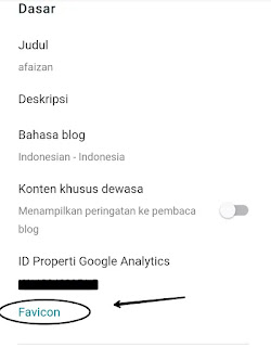Cara Merubah/Mengganti Favicon Blogger