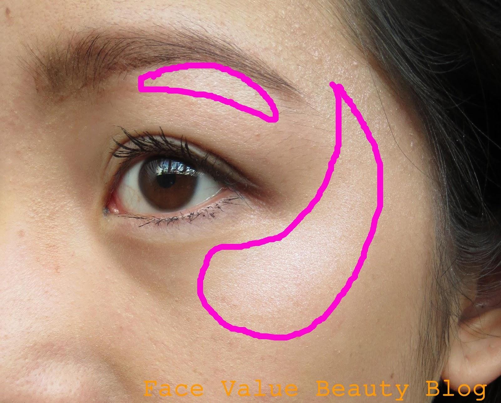 mua undress your skin highlighter demonstration
