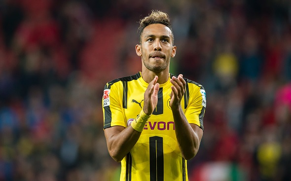 Pierre-Emerick Aubameyang reveals Manchester City talks