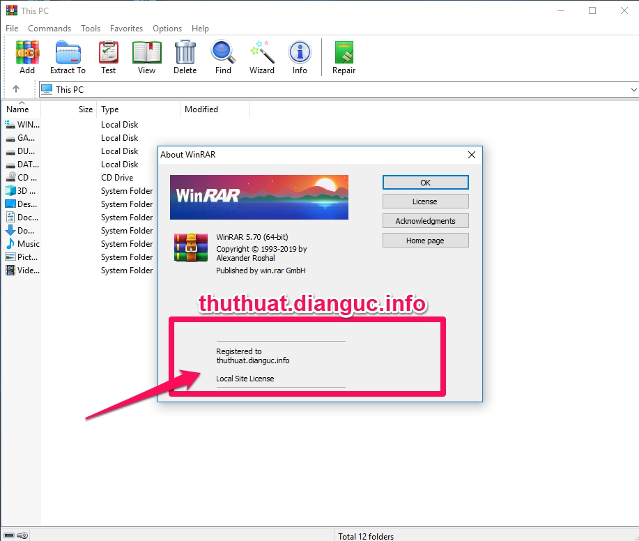Download WinRAR 5.70 Mới Nhất Full Key Bản Quyền