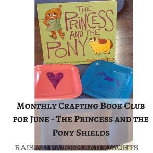 http://www.raisingfairiesandknights.com/monthly-crafting-book-club-june/