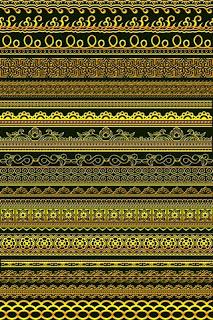 Golden Border Multi Design 2